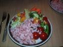"""Rejer """"mange rejer"""" med grøntsager"""