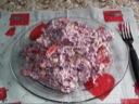 Rødkålssalat med kikærter
