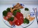Fersk frokostlaks