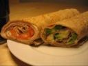 Frokostwrap med Gorgonzola og kalkun